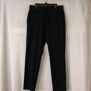 Women black St. John's bay active pants